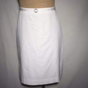 NEW Ann Taylor Skirt with Silver Buckle